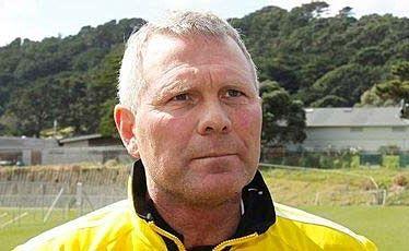 Wellington Phoenix coach Ricki Herbert.