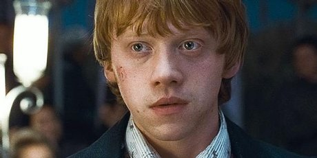 Rupert Grint played Ron Weasley in the Harry Potter film series.