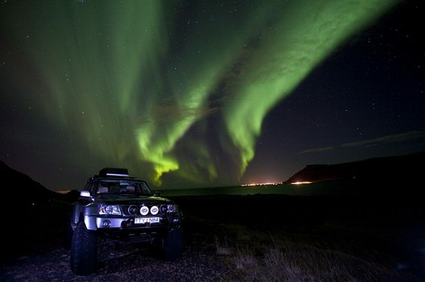 Iceland and Norway's most spectacular light show.