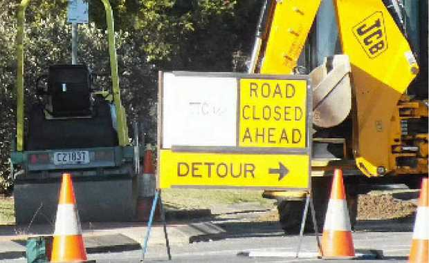 Expect delays due to roadwork on Warwick-Allora Rd from today.