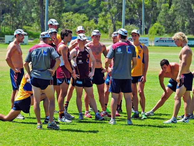 Brisbane Lions training