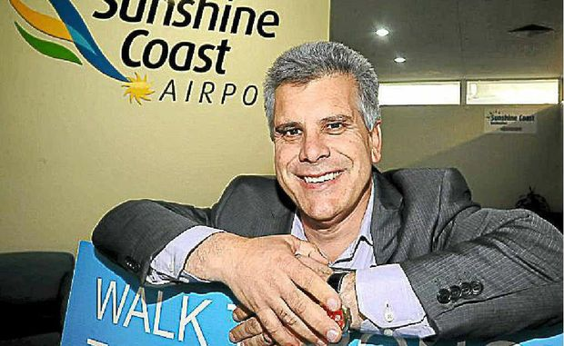 Sunshine Coast Airport general manager Peter Pallot.