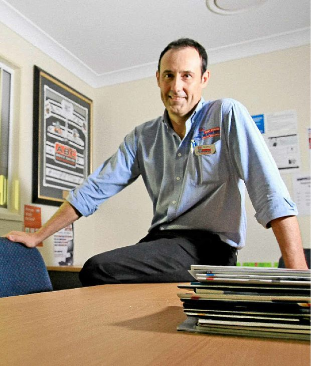 Tweed Chamber of Commerce president and businessman Rory Curtis.