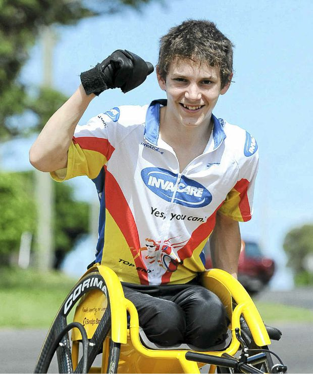 Bundaberg's Rheed McCracken has made the Australian Paralympics team for the 100m race.