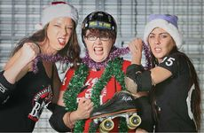 Under Ceej (Carla Paterson), Hell 'n' Awe (Eleanor Swiatek) and Mace (Rachel Powers) prepare for the upcoming Christmas-themed roller derby bout between the Ipswich City Sirens and the Brisbane Miss fits.