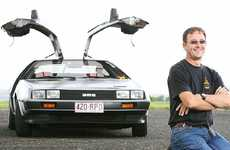 Michael Smith owns a 1981 DeLorean, renowned as being the time machine in the Back to the Future films. There are only about 100 of the iconic cars in Australia and about 12 in Queensland. Mr Smith bought his on e-Bay.