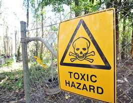 Work to clear toxic antimony mine site