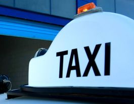 Taxi driver assaulted and robbed