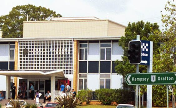 Coffs Harbour Court House.
