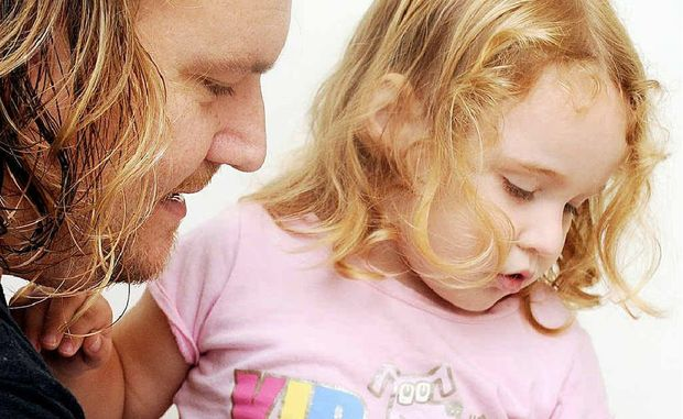 Doug Edwards has moved to Hervey Bay to give his autistic daughter, Indigo an education with AEIOU.