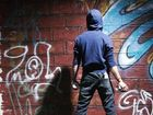 IMAGES of graffiti on his mobile phone proved the downfall of teenager Bradley Lankester in a Toowoomba court.