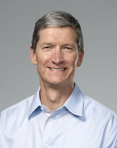 For all the hoopla, the leap to $US1,000 would be a big hike for a company that has already enjoyed a record run on the stock exchange. (CEO Tim Cook pictured)