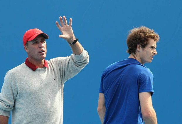 Ivan Lendl and Andy Murray.