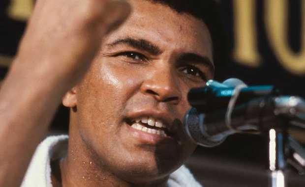 Muhammad Ali.