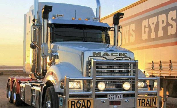 READY TO HAUL: The new Mack engin is the most powerful available in Australia and is aimed squarely at the road train market.