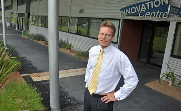 Innovation Centre CEO Mark Paddenburg.