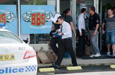 Coffs Harbour detectives have taken a man into custody after two raids this morning.
