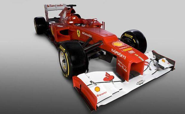 The Ferrari F2012.