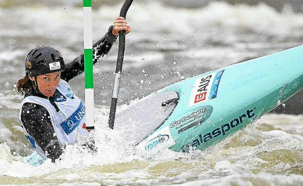 Kate Lawrence will need to bounce back in the Olympic Qualifiers to make the London Games.