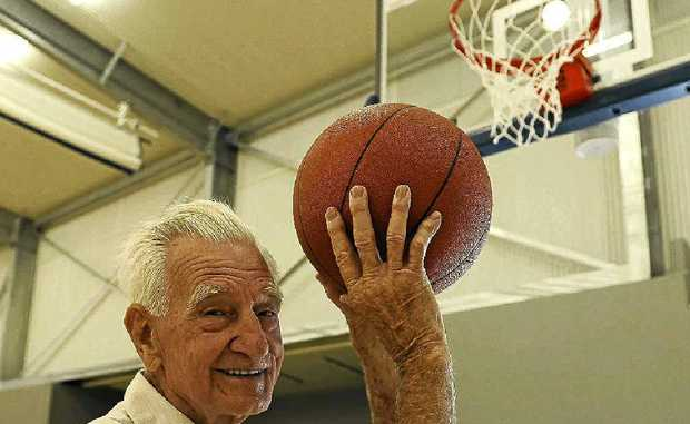 PLAYING THE LONG GAME: President of the Ocean Shores Basketball Association, Ray Ellis.