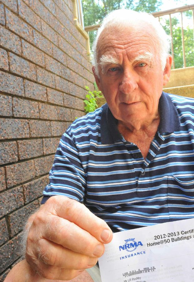 Lance Rushby is one of many bemused by the large increase in insurance costs.
