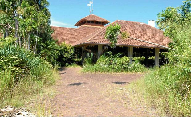 The Lodge, which was opened as the jewel in the Laguna Quays Resort crown in 1992, is in disrepair.