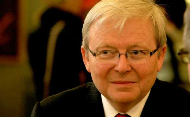 Kevin Rudd is supporting Free Sauce Friday.