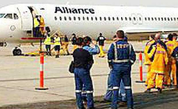 NEW ALLIANCE: The arrival of Australia's biggest charter airline to service the Hervey Bay-Emerald route has raised hopes that more miners will fly in and fly out of the region. Photo: Contributed
