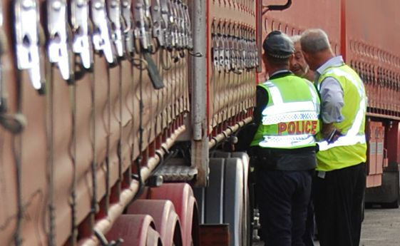 Police raid Lennons Transport Services and find false entries in logbooks and speed limiter tampering.