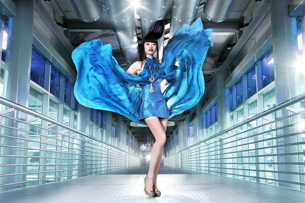 The official poster for the J Spring Fashion Show to be held on skybridge of the Petronas Twin Towers on March 19.