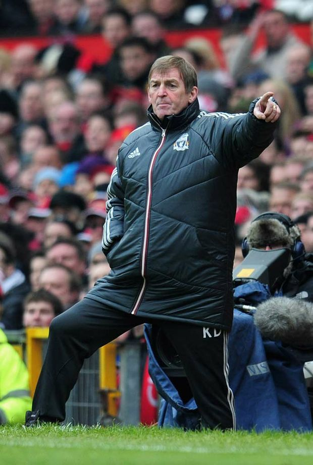 Liverpool manager Kenny Dalglish.