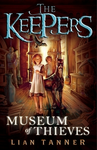 The first book in The Keepers trilogy, Museum of Thieves, is magical.