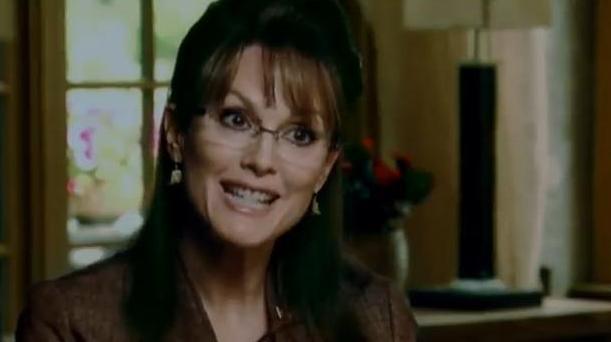 Julianne Moore as Sarah Palin in TV movie Game Change.