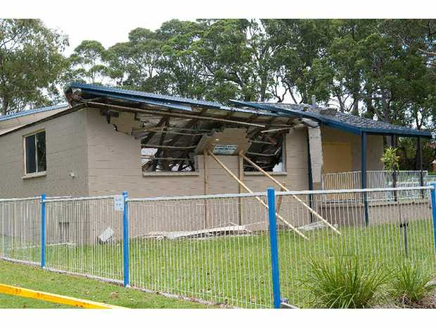 Moonee residents hope a new hall will be built to replace the building that was demolished.