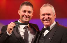 Michael Clarke and Allan Border.