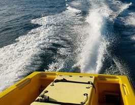 Ballina Marine Rescue attempt to catch runaway dinghy
