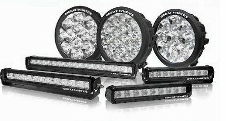 LIGHT UP: Great Whites LED lights spr