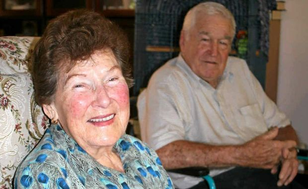 Elle and Allan Oehlmann are celebrating their 65th wedding anniversary today.