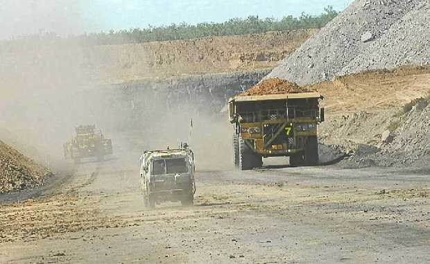 """Premier Campbell Newman confirmed increasing coal royalties in Queensland would be """"on the table"""" if the state did not benefit from the Federal Government's controversial mineral resources rent tax."""
