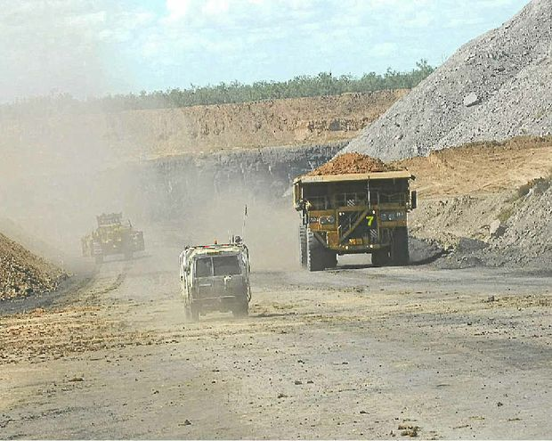"Premier Campbell Newman confirmed increasing coal royalties in Queensland would be ""on the table"" if the state did not benefit from the Federal Government's controversial mineral resources rent tax."