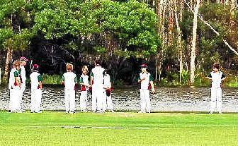 All Coolum cricket games were washed out last weekend.