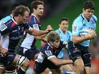 The mind games have continued ahead of Saturday night's Super Rugby final between the Waratahs and Crusaders