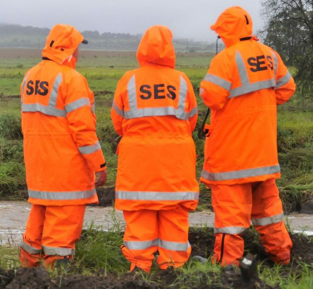 The SES has warned that moderate flooding is being experienced around Tweed.