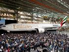 Emirates unveils 1000th Boeing 777