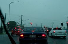Heavy rain across the Sunshine Coast Photo:Warren Lynam / Sunshine Coast Daily