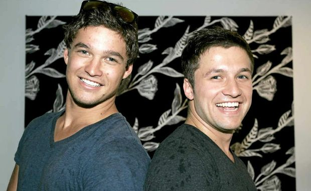 Rockhampton brothers Zac and Aaron Russell did well during their first auditions for TV show X-Factor.