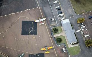 Maryborough airport.