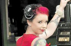Alicia Taylor, aka Scarlet Tinkabelle.