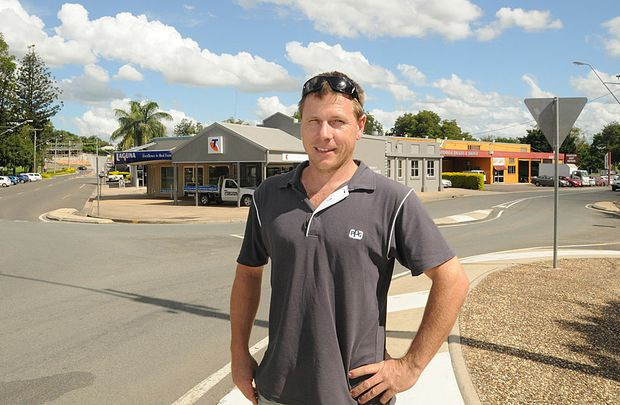 Kane Kelso from Cooloola Panel and Paint has welcomed news of a flood mitigation study.