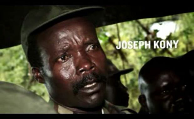 A photo of Joseph Kony from Invisible Children's Kony 2012 video.